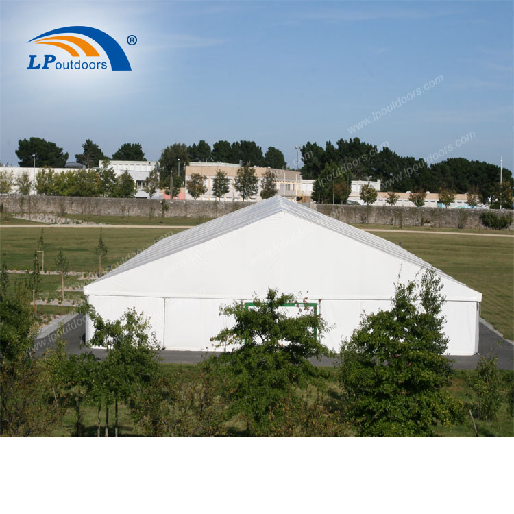 Outdoor clearspan large inustrial portable tent for garage