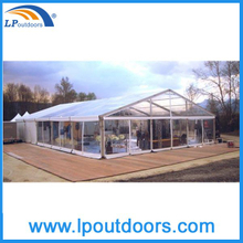 High Quality 15x30m Clear Wedding Party Marquee Tent For 300