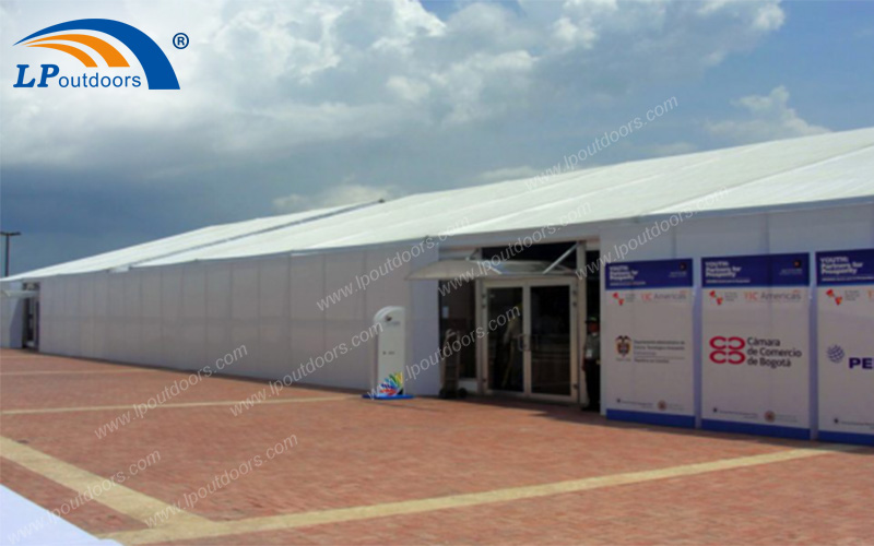 Outdoor Large Aluminum Exhibition Party Tent For A Trade Show