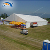 Temporary fabric structure industrial disaster tent for hospital isolation
