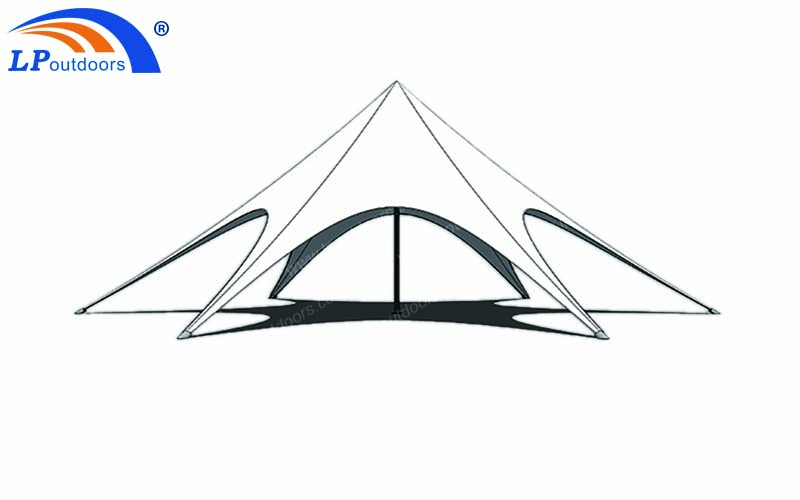 12m single top star tent