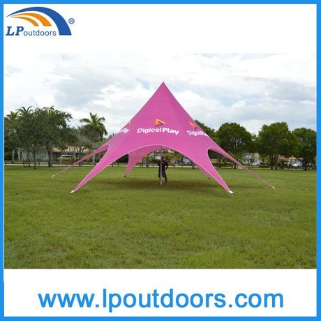 Cheap Dia8m Star Tent Star Shade for Outdoor Events