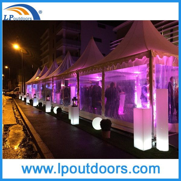 5X5m Clear Sides Wedding Party Event Gazebo