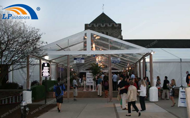 LPoutdoors Annual Alumni Transparent Event Tent