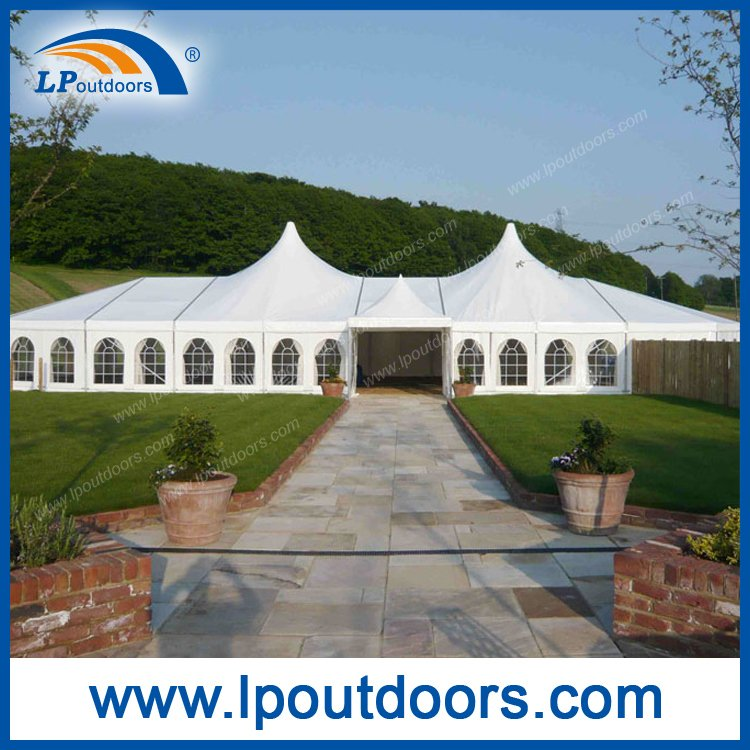 15X40m Ourtdoor High Peak Wedding Party Event Tent
