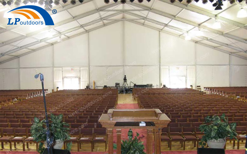 40x65M Big Clear Span Party Tent For Prayer Event