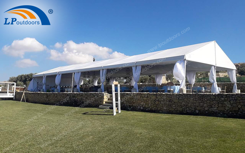 Luxury Aluminum Large Outdoor Party Tent For Dinner Event