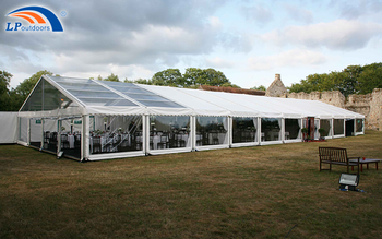 Romantic Outdoor Party Wedding Tent With Transparent Wall