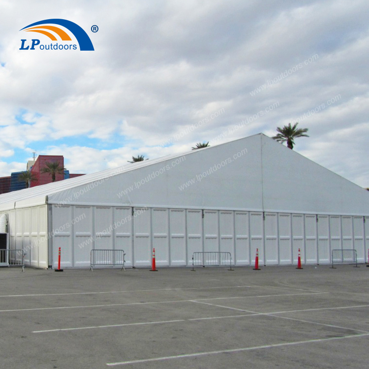 Temporary Industrial Aluminum Storage Tent (3)